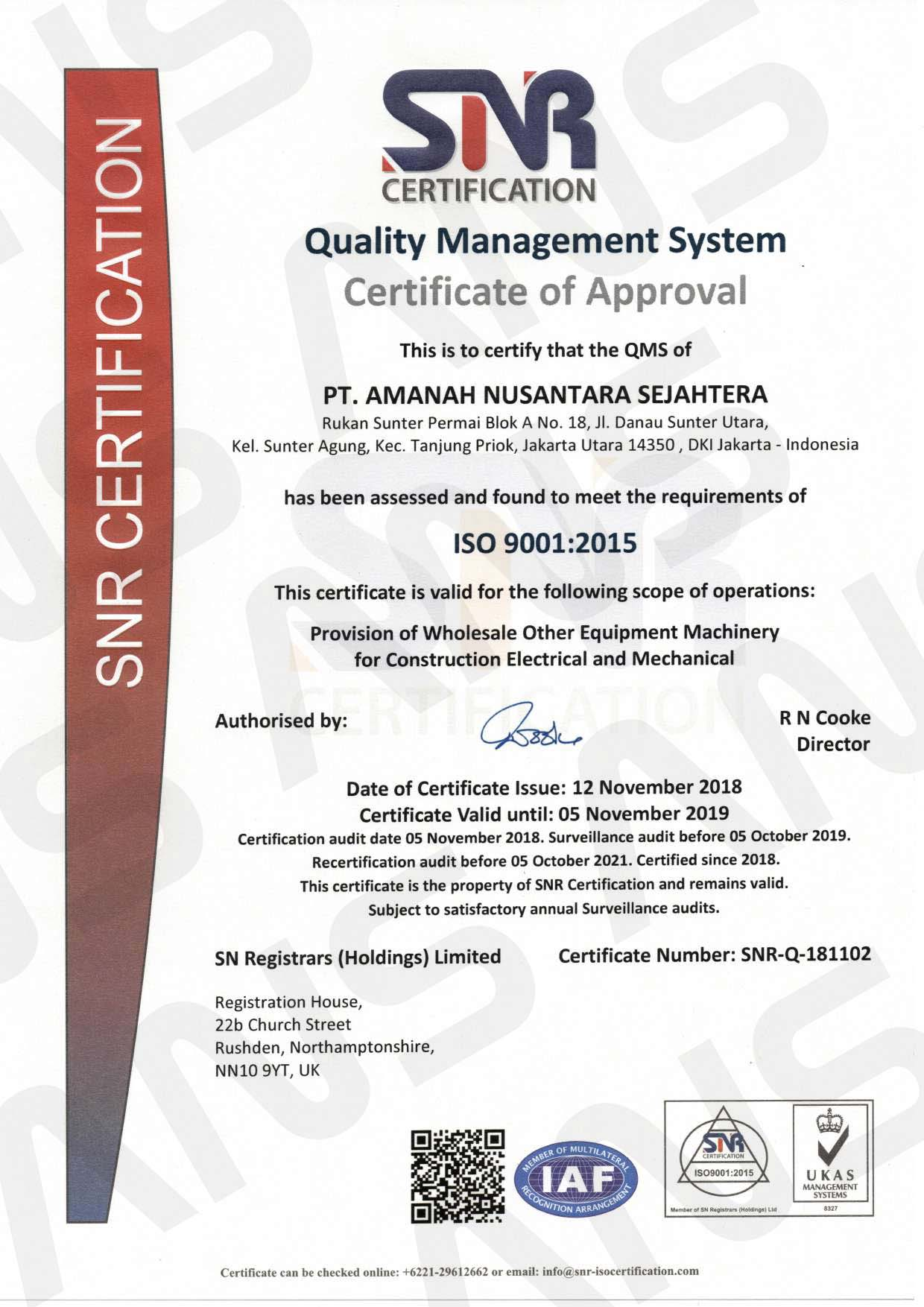 ISO-9001;2015