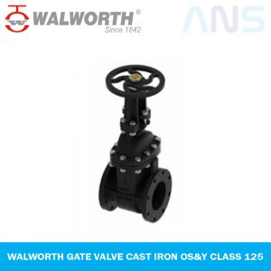 WALWORTH GATE VALVE CAST IRON OS&Y CLASS 125