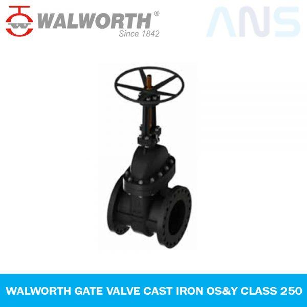 WALWORTH Gate Valve Cast Iron OS&Y Class 250